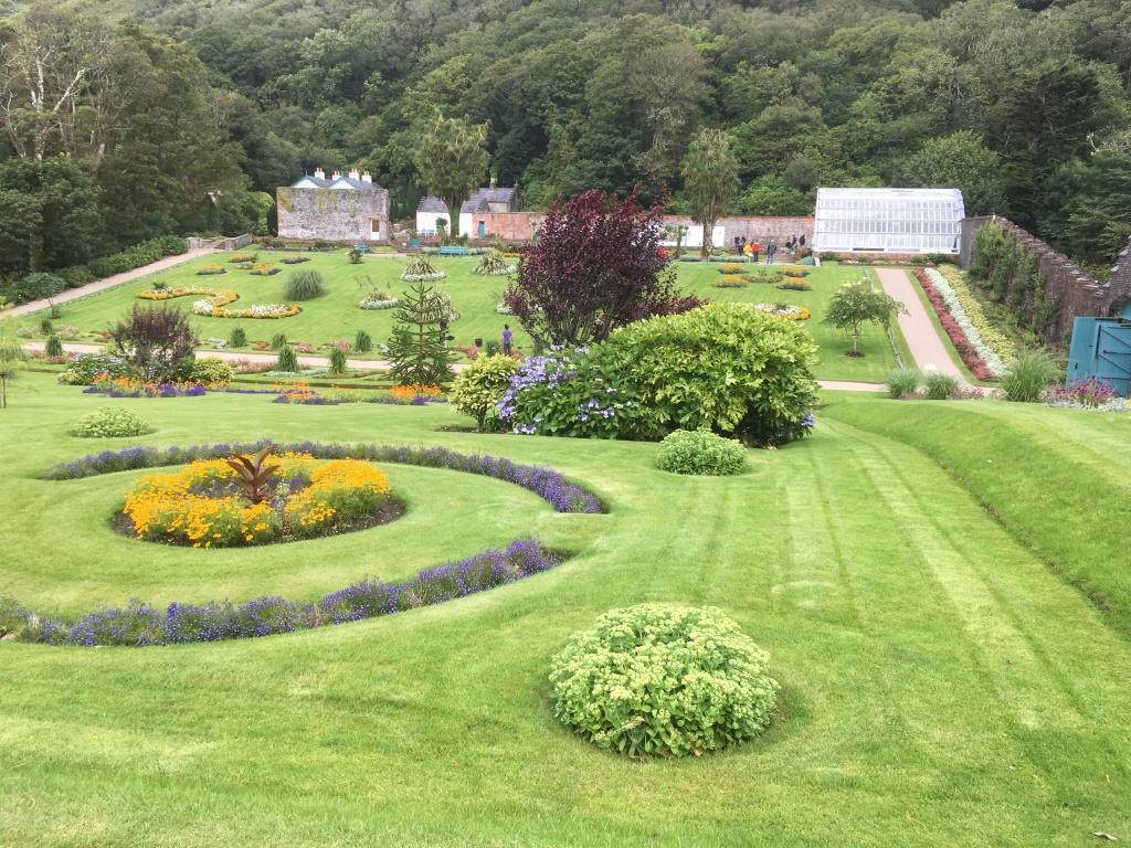 Victoria Garden, Kylemore Abbey